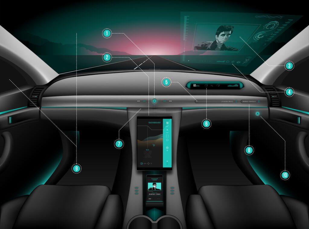 Driverless Car Dashboard
